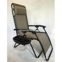 cama con estructura de metal reclinable