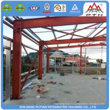 Prix d'usine en gros à bas prix atelier d'usine structure en acier léger maison bâtiment