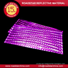 Security bicycle rim reflector stickers