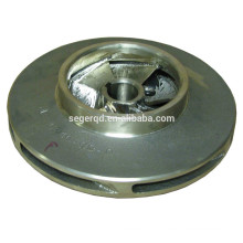 Custom semi-open impeller