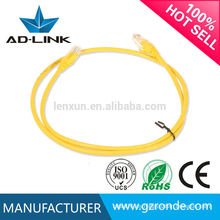 1m 2m 3m 24AWG RJ45 Cat 6 Cable de conexión UTP