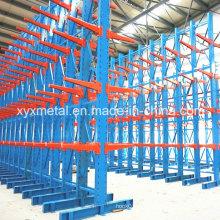 Entrepôt industriel Porte-bagages cantilever à rangement lourd