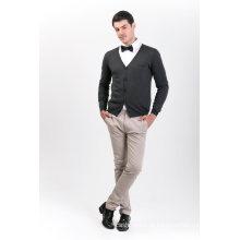 Camisola de Mistura de Cashmere para Moda Masculina 18brssm006