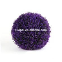 Purpurrote Farbe der künstlichen Dekorationslavendelgras-Kugel für Haus und Garten China