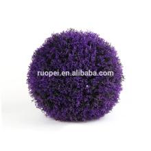La decoración artificial lavanda bola de hierba color púrpura para el hogar y el jardín China