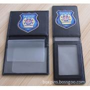 Metal Police Wallet Badges