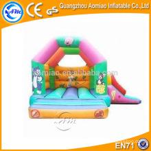 Bâton de sauvetage gonflable pour dessin animé, simple maison de rebond de trampoline