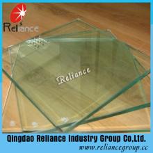 15mm Transparentes Sicherheitsglas für Tische / Balkon / Dach