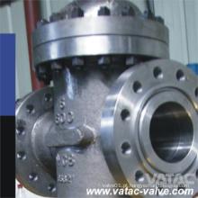 Wcb / CF8 / CF8m através da válvula de porta da canalização
