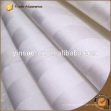Tissu en coton rayé 3CM pour hôpital hôtelier