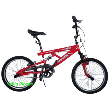 Bicicleta de BMX de suspensão livre Freestyle Bike
