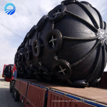 Pára-choque pneumático do navio da proteção do porto para a embarcação de embarcadouro