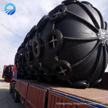 Port Protection Pneumatic Ship Fender For Docking Vessel