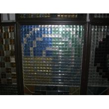 Tuile mur en cristal de 50 cm de Chine Factory