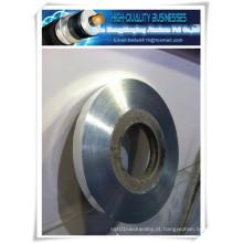 Fita de alumínio de poliéster para proteção de cabos