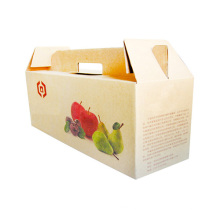 Caja de cartón de embalaje barato personalizado para frutas