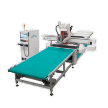 9kw HSD ATC spindle drilling bank automatic loading panel woodworking ATC cnc router nesting machine