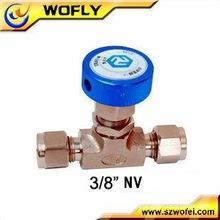 Micro metering valve needle valve