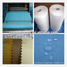 Tecidos não polidos de polipropileno