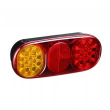100% Waterproof 12V E4 LED Trailer Combination Tail Lights