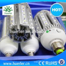 Precio de fábrica LED ahorro de energía lámpara 40W LED luces de maíz E40 impermeable