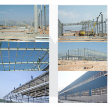 Steel Structure Building Fabrication Prefab Warehouse