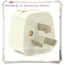 EUA Reino Unido UE para Austrália China Adaptador de viagem Adaptador AC Universal Adapter
