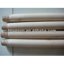 wood broom handle with pvc coated