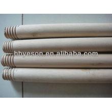 Alça de vassoura de madeira com revestimento de pvc