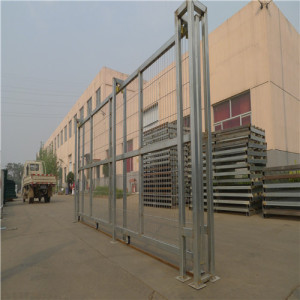 Hot Dipped Galvaniserad Metal Yard Fence Gate