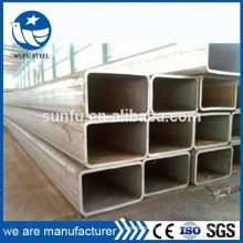 Supply welded structure rectangular 200*100 steel tube & pipe