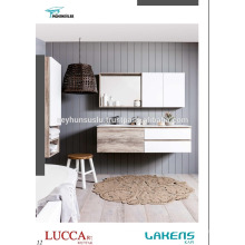 Luxury View Cheap Price Batroom Vanity wity New Arrival Mdf Color Choices