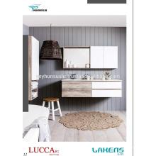 Vista de luxo Preço barato Batroom Vanity wity New Arrival Mdf Color Choices