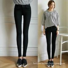ankle-length pants Simple waist Slim jeans female stretch pants feet Slim trousers/pantaloni byxor