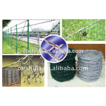 All kinds of barbed wire fencing
