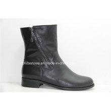 OEM Popular Comfort Flat Women Ankle Boots para Lady