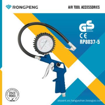 Rongpeng R8037-5 tipo pistola de aire inflado herramienta accesorios
