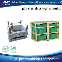 Molde de inyección de plástico de almacenamiento de JMT Huangyan OEM 2 cajón profundo superficial y 4