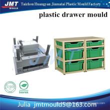 Molde de injeção plástica de armazenamento JMT Huangyan OEM 2 gaveta profunda superficial e 4