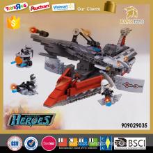 1260PCS plástico heróis blocos de construção brinquedos brinquedos para crianças