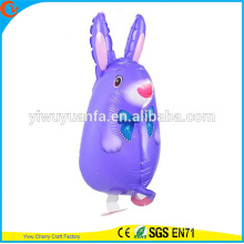 Cute Design Walking Pet Balloon Toy Foil Balloon Rabbit for Kid's Gift