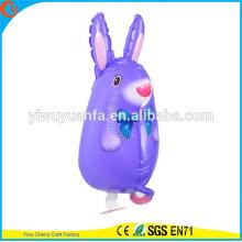 Симпатичный дизайн прогулки Pet воздушном шаре игрушки фольги воздушный шар Кролик для малыша подарок