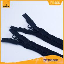 Qualität Zweiweg geformte Plastik Derlin Reißverschlüsse ZP30006
