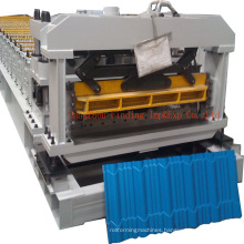 Glazed tile roll forming machine_step tile making machine for Nigeria