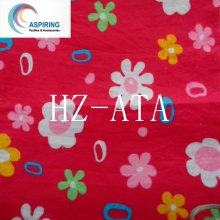 Cotton/Polyester Flannel Fabric for Baby Cloth