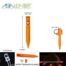 Camping Trip Survival Accessory Practical Outdoor Tent Peg Led Lights
