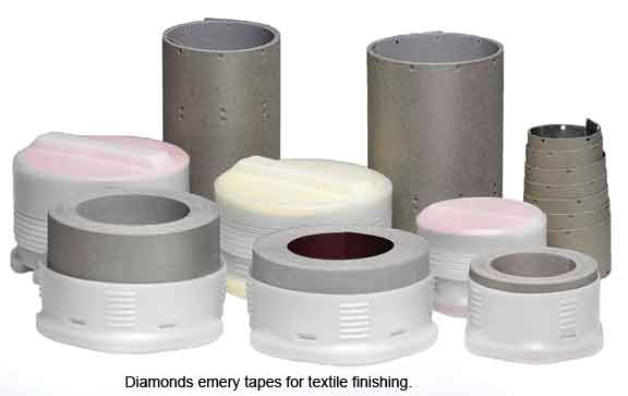 Diamond Emery Taps For Textile Finishing