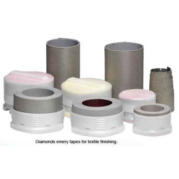 Seamless Diamond Strips for Textile Sueding Eliminate Breakage