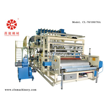 PE High Speed ​​Plastic Film Machine