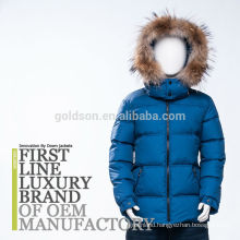 Boy down jacket kid jackets with removed raccoon fur